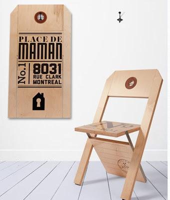 Diseño de silla plegable