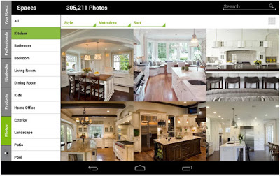 Aplicaciones Android, iPhone, iPad para diseño de casas