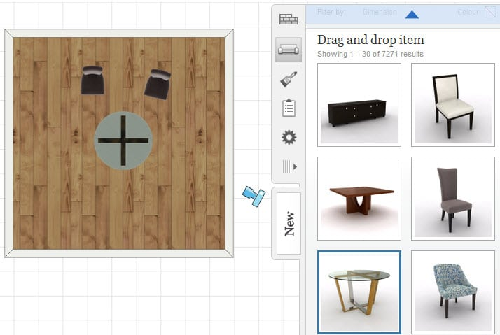 Aplicaciones de dise o de interiores con muebles en 3d for Diseno de interiores software