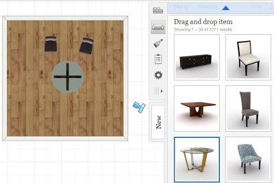 Aplicaciones de dise o de interiores con muebles en 3d for Software para disenar muebles