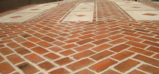 Pisos de ladrillo para exteriores, jardines, terrazas y parques