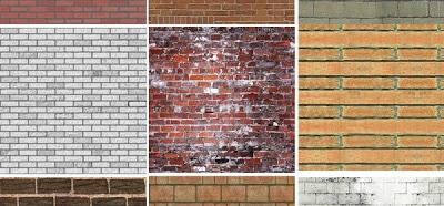Todos los tipos de ladrillos para pared y acabados