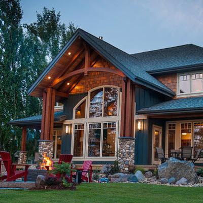 Fachadas de casas r sticas dise os y materiales construye hogar - Casas de una planta rusticas ...