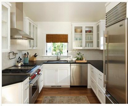 Diseño de cocina pequeña con ideas y fotos - Construye Hogar