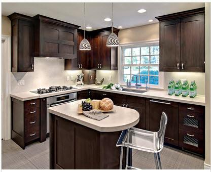 Dise o de cocina peque a con ideas y fotos construye hogar - Disenos de cocinas en l ...