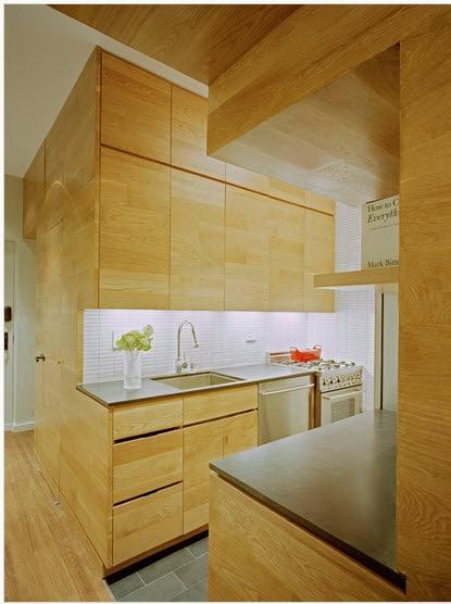 Dise o de cocina peque a con ideas y fotos construye hogar for Cocinas en departamentos pequenos