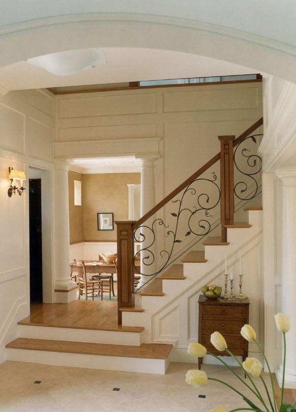 Diseño de escalera elegante
