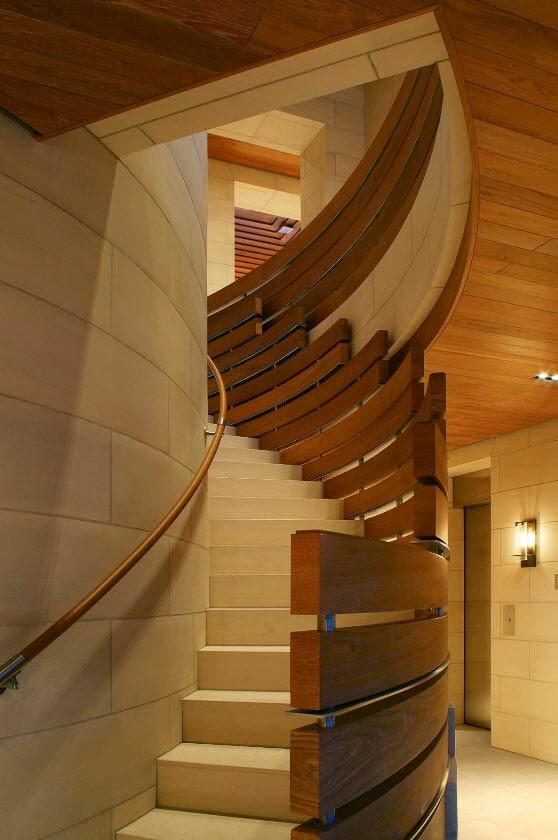 Dise os de escaleras formas y estilos con fotos for Formas de escaleras de concreto