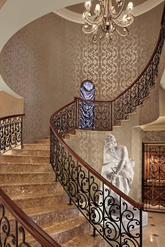 Diseños exclusivos lujo escaleras