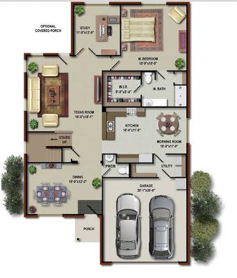 Elección de los planos de la casa