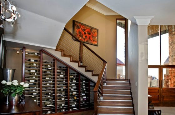 Escalera clásica moderna