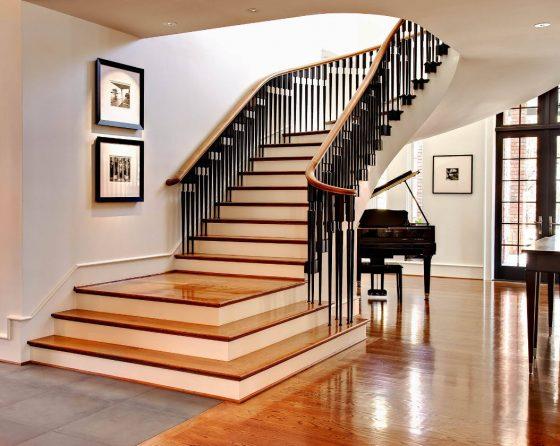Diseño de escaleras clásicas modernas