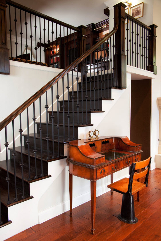Diseño clásico escaleras