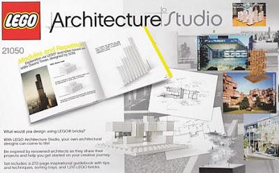 Hacer casas y edificios con Lego Architecture Studio