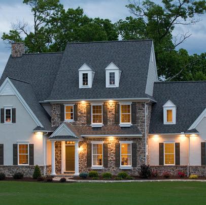Fachadas de casas r sticas dise os y materiales for Fachadas de casas estilo contemporaneo