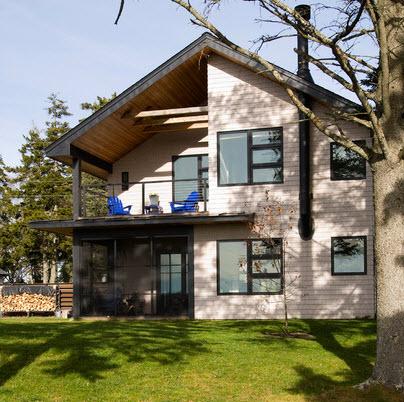 Fachadas de casas r sticas dise os y materiales - Materiales para fachadas de casas ...