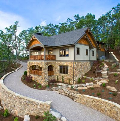 Fachadas de casas r sticas dise os y materiales construye hogar - Piedras para fachadas de casas rusticas ...