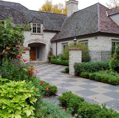 Fachadas de casas r sticas dise os y materiales for Casas clasicas fotos