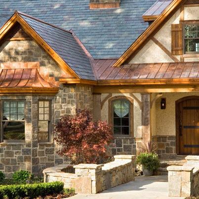 Fachadas de casas r sticas dise os y materiales for Modelos de casas rusticas