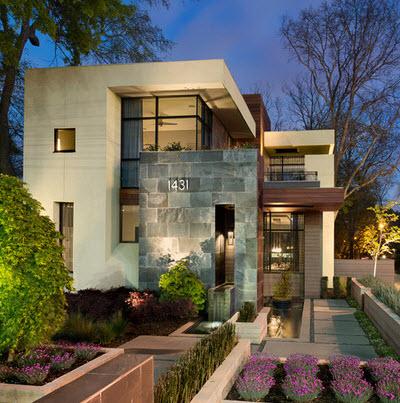 Fachadas de casas modernas todo para dise ar una hermosa for Materiales para techos de casas