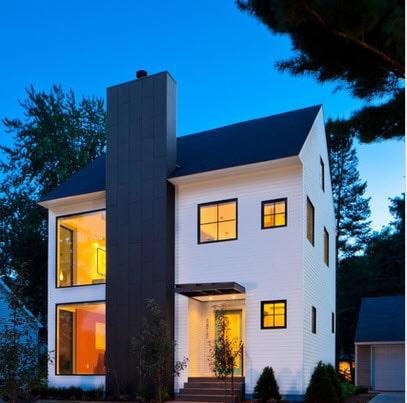Fachadas de casas modernas todo para dise ar una hermosa - Colores fachadas casas de campo ...