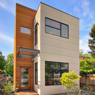 Fachadas de casas modernas todo para dise ar una hermosa - Pintado de fachadas ...