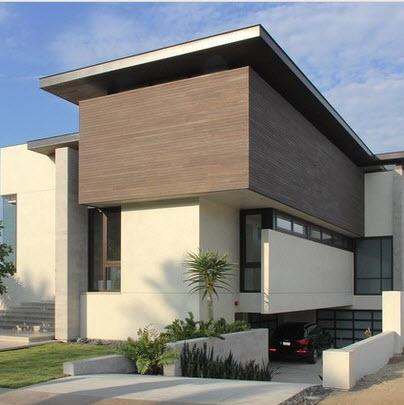 Fachadas de casas modernas todo para dise ar una hermosa casa fotos construye hogar - Materiales para fachadas de casas ...