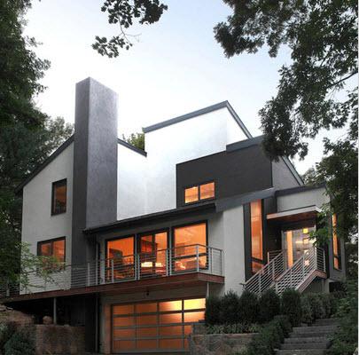 Fachadas de casas modernas todo para dise ar una hermosa for Ingreso casas modernas