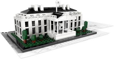 La casa Blanca hecha con Lego