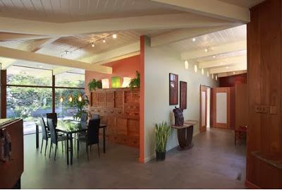 Diseño interior de casa antigua remodelada