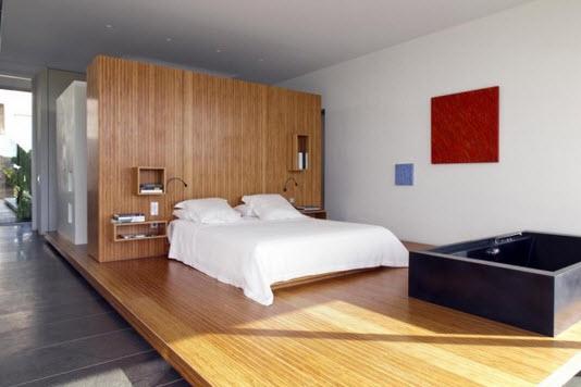 Dormitorio estilo minimalista en casa