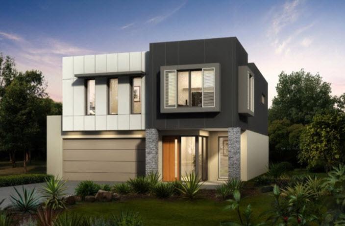 Planos de casas de dos pisos construye hogar for Casas modernas de 5 pisos