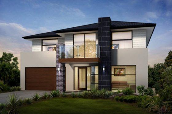 Planos de casas de dos pisos con ideas y dise os que for Disenos arquitectonicos de casas modernas