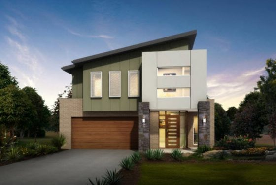 Planos de casas de dos pisos con ideas y dise os que inspiran - Revestimientos exteriores para casas ...