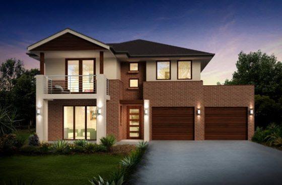 Planos de casas de dos pisos con ideas y dise os que for Diseno de jardines frentes de casas