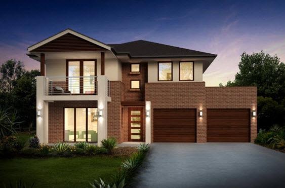 Planos de casas de dos pisos con ideas y dise os que inspiran for Fachadas de casas modernas de dos pisos