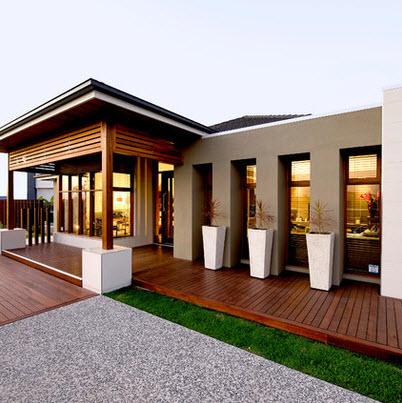 Fachadas de madera de casas modernas fotos construye hogar for Casa moderna madera