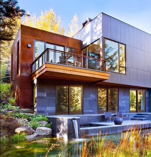 Fachadas de casas de lujo dise o l neas y estilos fotos - Ver casas de lujo por dentro ...