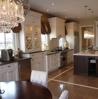 Dise os y tipos de pisos para cocina para que elijas el - Cocinas estilo colonial ...