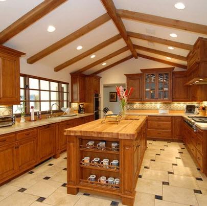 Dise os y tipos de pisos para cocina para que elijas el for Tipos de cocina arquitectura