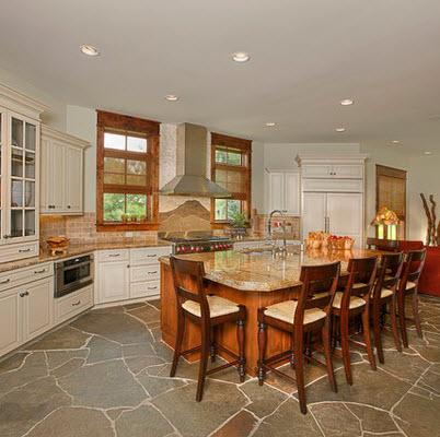 Dise os y tipos de pisos para cocina para que elijas el for Ver cocinas rusticas