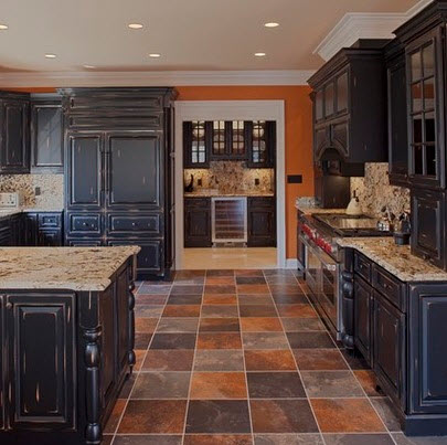 Dise os y tipos de pisos para cocina para que elijas el for Cocinas coloniales modernas