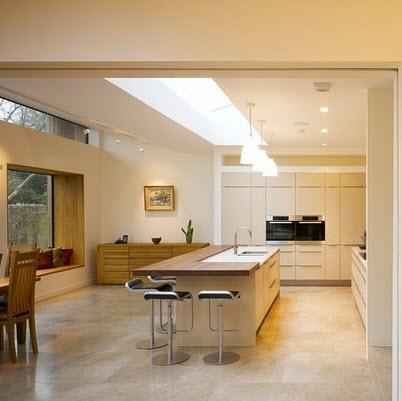 Dise os y tipos de pisos para cocina para que elijas el for Pisos para cocina comedor living