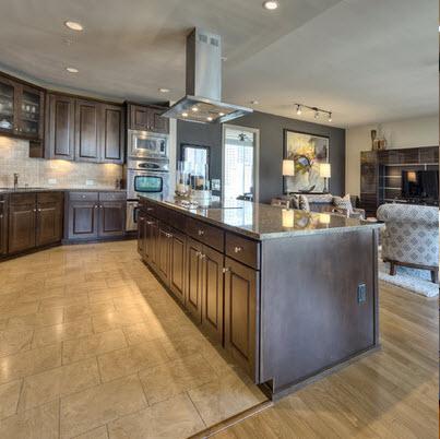 Dise os y tipos de pisos para cocina para que elijas el for Pisos de ceramica para cocina comedor