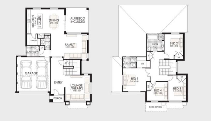 Planos de casas de dos pisos construye hogar for Pisos de diseno