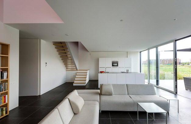 Dise o de casa moderna en forma de cubo de 10x10x10 fotos for Casa cubo minimalista
