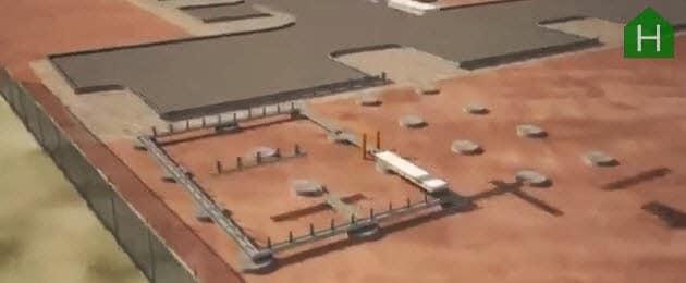Bases - cimentación de casa prefabricada de concreto