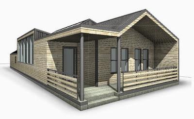 Diseño de casa segura a prueba de tornados