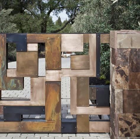 Diseño de cerco de casa moderno