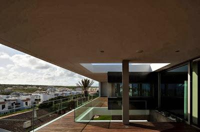 Elementos constructivos de casa de playa